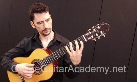 (7/12) Sonata K. 8 by D. Scarlatti – solo classical guitar arrangement by Emre Sabuncuoglu