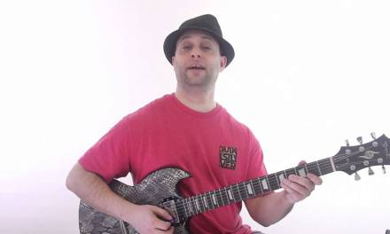 Cool Lead Guitar Lesson on Minor and Major Pentatonic Scales