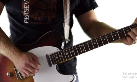 Country Pickin' Solo in G – Here's a Quarter – Guitar Lesson