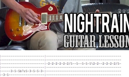 Guns N'Roses – Nightrain FULL Guitar Lesson (With Tabs)