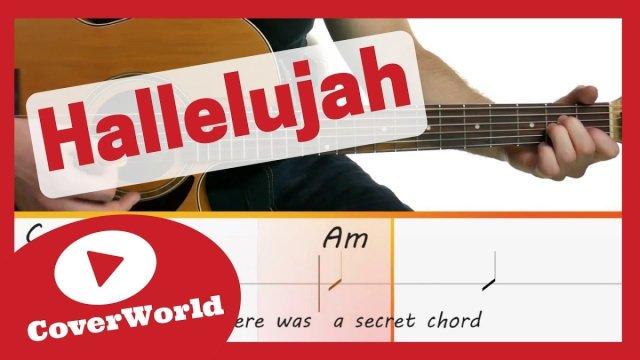 Hallelujah Leonard Cohen Guitar Lesson Play Along Easy Chords