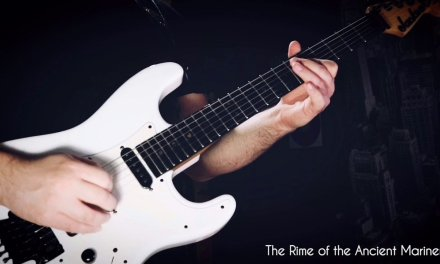 The Rime of the Ancient Mariner, Adrian Smith Guitar Solo. Iron Maiden, Powerslave Album.