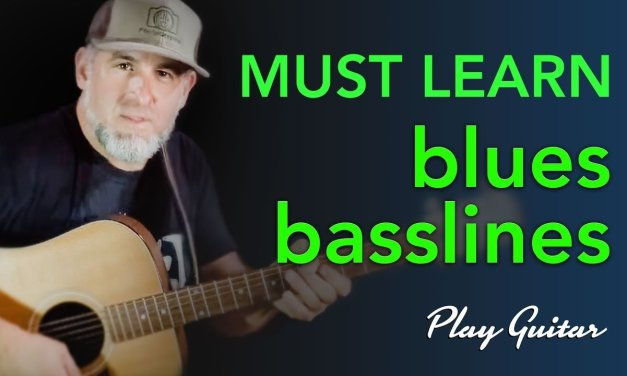 Must Learn! Blues Basslines Arranged for Guitar – Jason Carey      LIVESTREAM Wed@9PM EST    