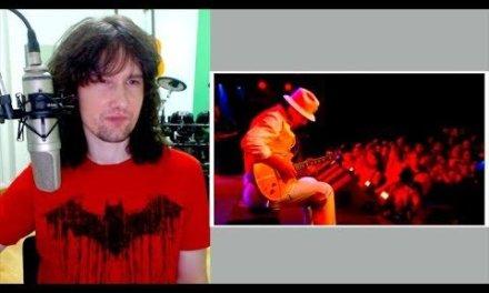 British guitarist reacts to Carlos Santana's 8 minute guitar lesson!