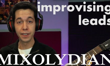 How to Improvise Solos in Mixolydian Mode [Guitar Lesson]