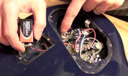 9 volt battery clip replacement on a bass guitar