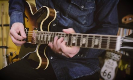 """""""Hard Times"""" (Ray Charles) Blues Guitar Solo on a Gibson Custom 1963 ES-335 Nashville"""