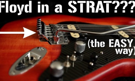 The COMPLETE DIY guide to installing a FLOYD ROSE Tremolo in a Stratocaster