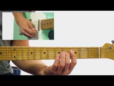Blues Rhythm Guitar Lesson Corey Congilio Funk Blues Progression
