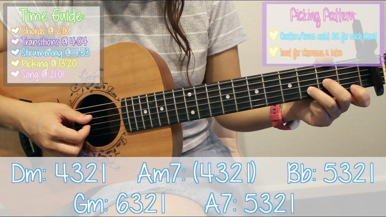 God Is A Woman Ariana Grande Easy Guitar Tutorialchords The Glog