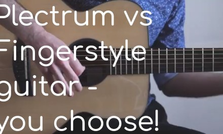 Fingerstyle guitar vs strumming – DADGAD guitar, two musicians