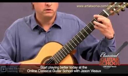 Classical Guitar Lesson: Jason Vieaux teaches Bourrée