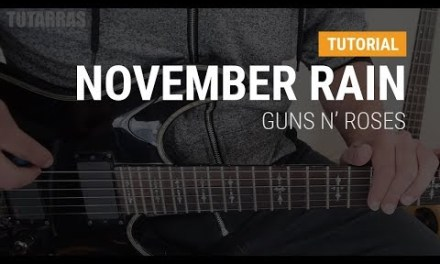 November Rain by Guns n Roses COMPLETE GUITAR LESSON TUTORIAL