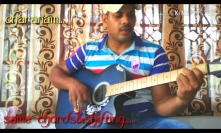 #AARADHANA YESU NEEKEY# perfect guitar lesson with simple chords