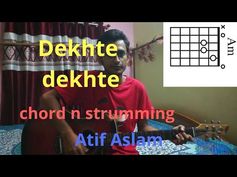 Dekhte dekhte –    Atif Aslam    easy guitar lesson by GuitarTrick