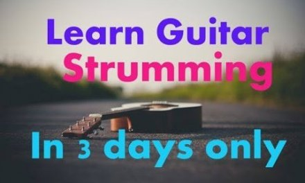 How To Strum A Guitar In 3 Days | Absolute beginners Lesson #1