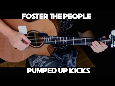 Kelly Valleau Pumped Up Kicks Foster The People Fingerstyle