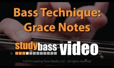 Bass Technique: Grace Notes | StudyBass
