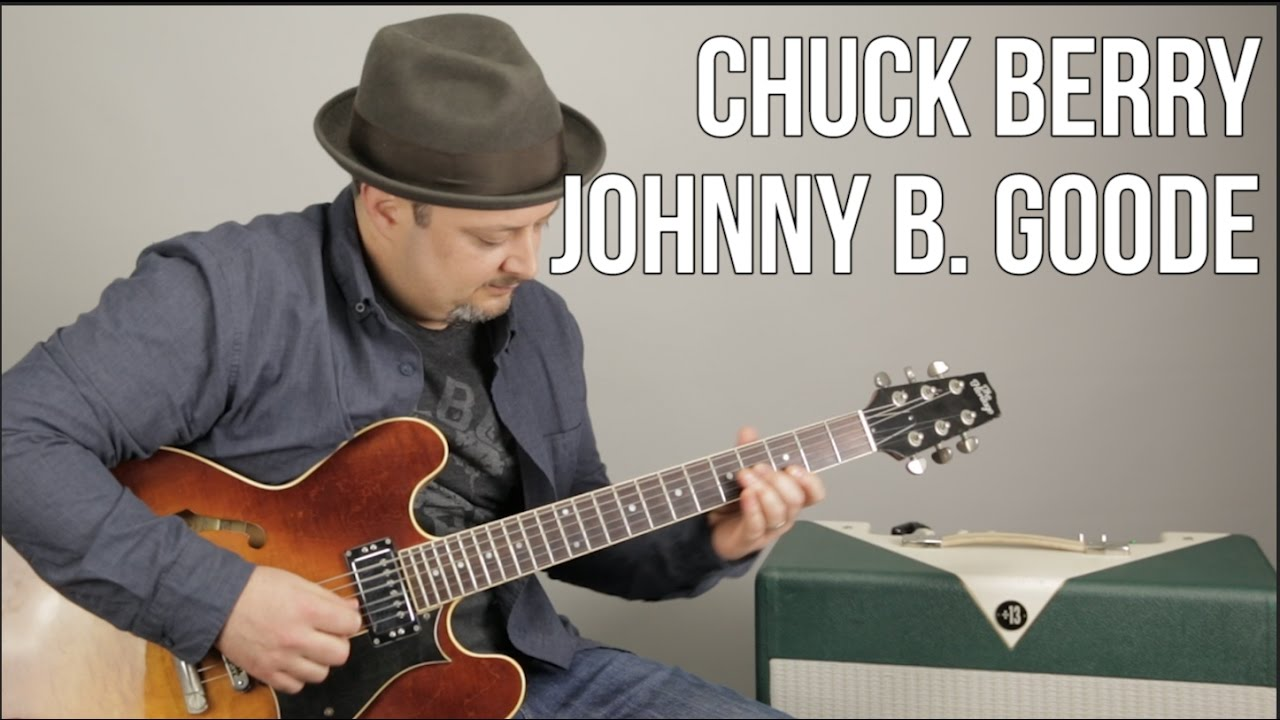 Chuck Berry Johnny B Goode How To Play On Guitar Guitar
