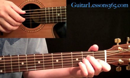 Kansas – Dust In The Wind Guitar Lesson Pt.1 – Intro & Verse