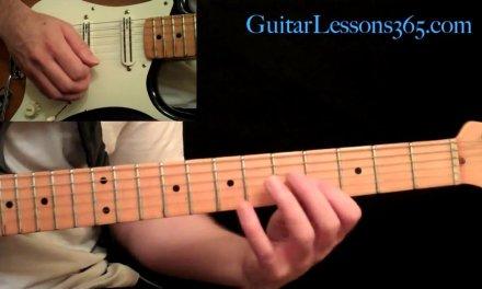 Thunderstruck Guitar Lesson Pt.1 – AC/DC – Intro