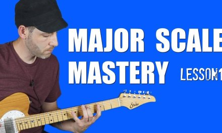 MAJOR SCALE Guitar | All 7 Patterns (Lesson 1)