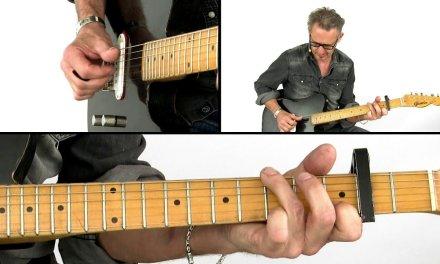 Down Home Boogie & Blues Guitar Lesson – When He Comes – Richard van Bergen