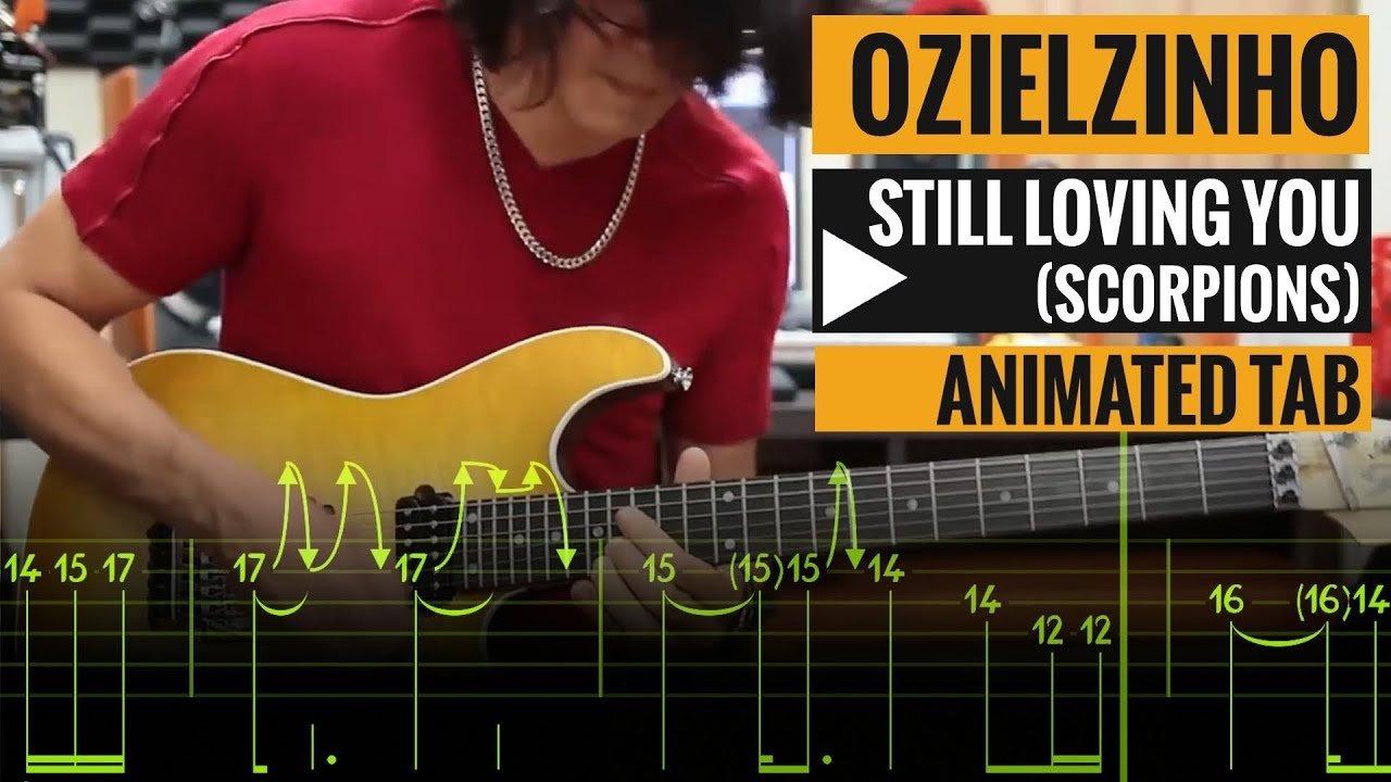 Ozielzinho Still Loving You Scorpions Guitar Lesson Animated