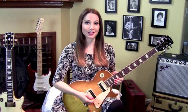 Led Zeppelin-Kashmir-Guitar Lesson-DADGAD Tuning-Allison Bennett