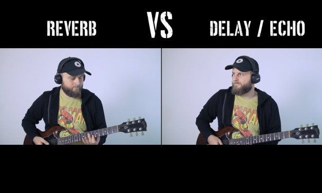 Reverb VS Delay or Echo – What Is The Difference? Explanation, Comparison and Demonstration