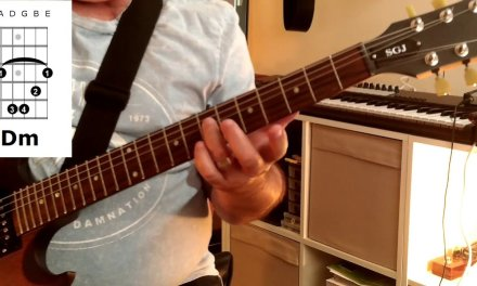Intermediate Guitar Lesson – A minor & D minor barre chords
