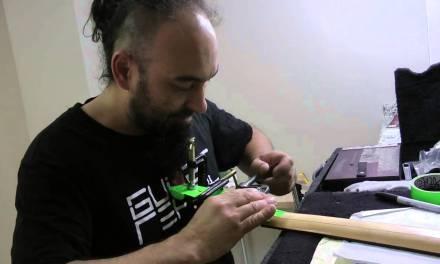 DragonForce – Herman Li Broken Ibanez EGEN Guitar Repair
