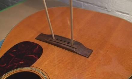 Martin Guitar Repair #8 Bridge Re-Glue