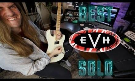 Learning The Best Van Halen Solo ( It's Not Eruption!)
