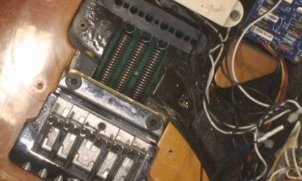 1983 Fender Elite Stratocaster Repair Part 1