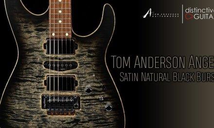 Tom Anderson Angel Guitar | Satin Natural Black Burst