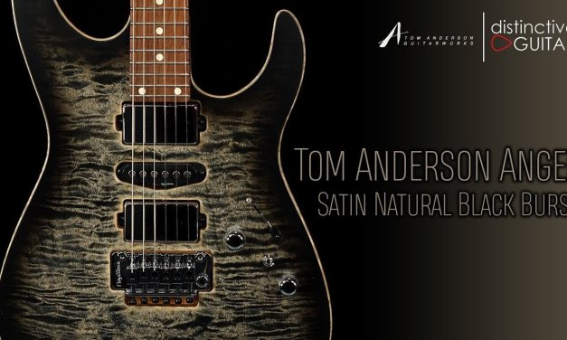 Tom Anderson Angel Guitar | Satin Natural Black Burst