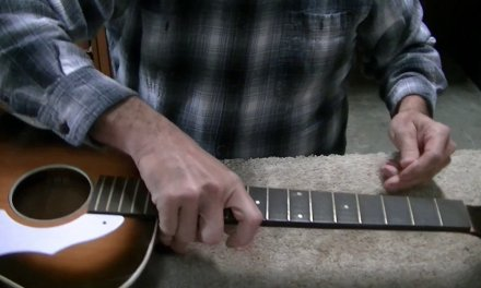156 RSW Silvertone Guitar Repair with Bonus Footage