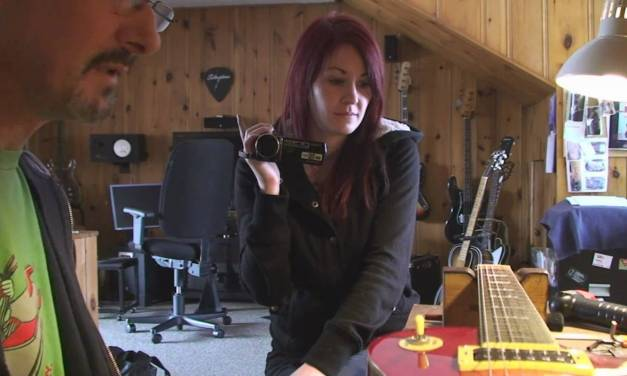 Camille Learns Guitar Repair Day 3