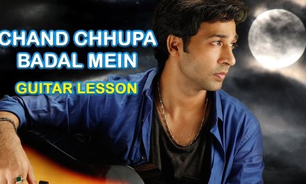 CHAND CHHUPA BADAL MEIN GUITAR LESSON BY VEER KUMAR