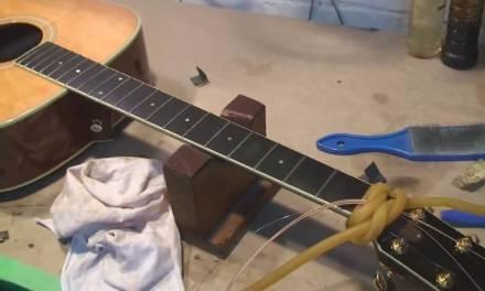 Taylor Acoustic Guitar Repair Part 1