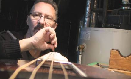 The Loar Guitar Repair Part 1