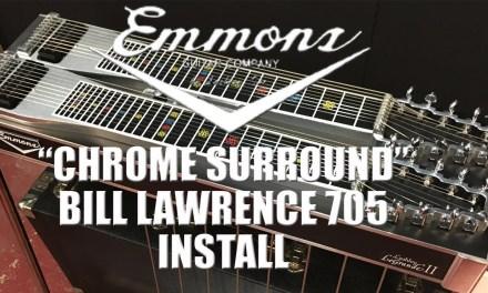 Pedal Steel Guitar Repair: Emmons Lashley Legrande II Pickup Install