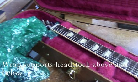 Les Paul…  ready for Shipping