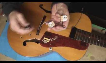 Harmony Patrician Guitar 1961 Fun Times