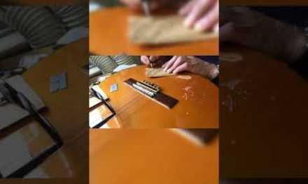 repairing guitar –broken guitar,تعمیر شکستگی گیتار