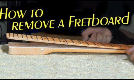 How to remove a Fretboard