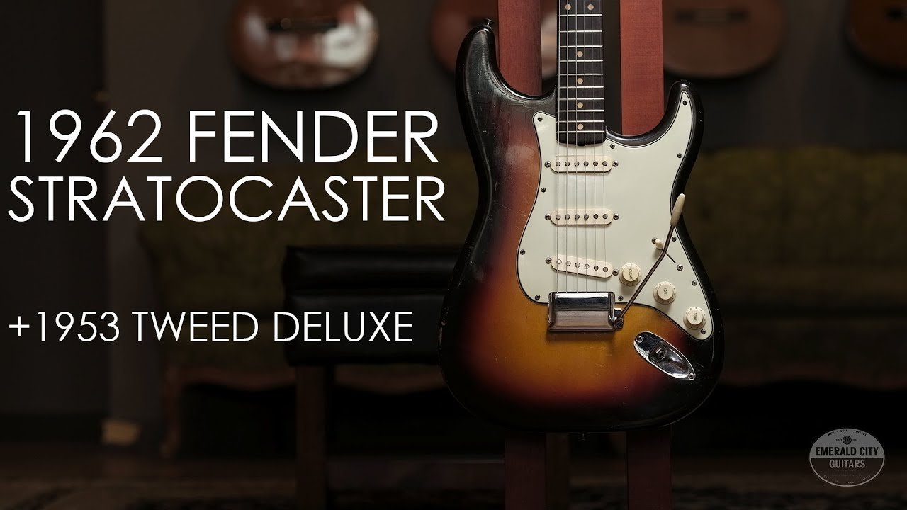 """Pick of the Day"" – 1962 Fender Stratocaster and 1953 Tweed Deluxe"