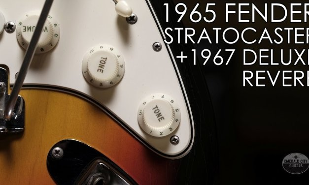 """""""Pick of the Day"""" – 1965 Fender Stratocaster and 1967 Deluxe Reverb"""