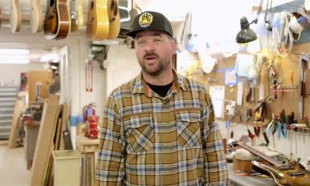 James Hood Guitar Repair Shop Promo